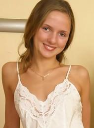 Amateur teen girl posing