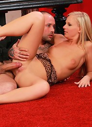 Rebecca - Musical Romp - Blonde loves to suck and fuck cock
