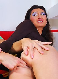 Teen ass is crying out for anal